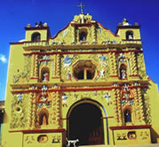Church  San Andres Xecul